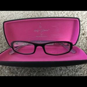 f5a64cebdb Baby Phat eye glasses black   pink